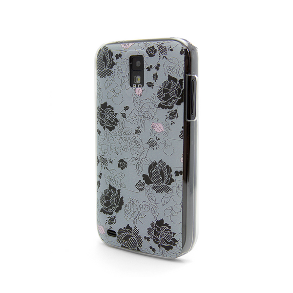 T-Mobile Samsung Galaxy S2 Vintage Pink Gray Case - Duchess Burgess Case
