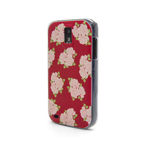 T-Mobile Samsung Galaxy S2 Red Roses Case - Duchess Chesterfield Case