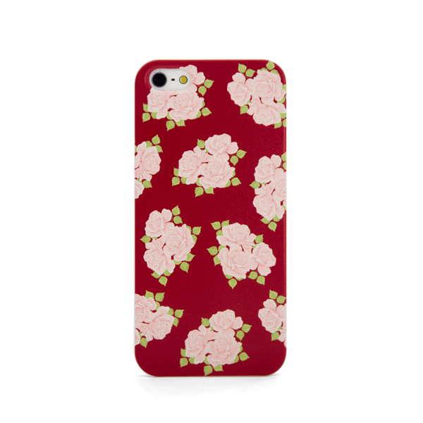 iPhone 5 and iPhone 5s Red Roses Case - Duchess Chesterfield Case