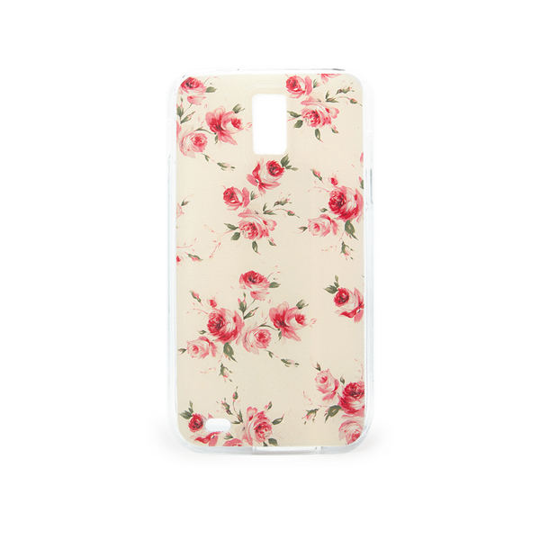 T-Mobile Samsung Galaxy S2 Vintage Floral Yellow Case - Duchess Devon Case