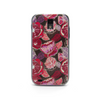 T-Mobile Samsung Galaxy S2 Red Floral Case - Duchess Hampton Case