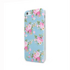 iPhone 5 and iPhone 5s Case in Blue Vintage Floral Design