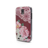 T-Mobile Samsung Galaxy S2 Vintage Floral Red Lace Case - Duchess Yeardley Case