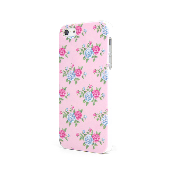 iPhone 5 and iPhone 5s Vintage Floral Pink Case - Duchess York Case