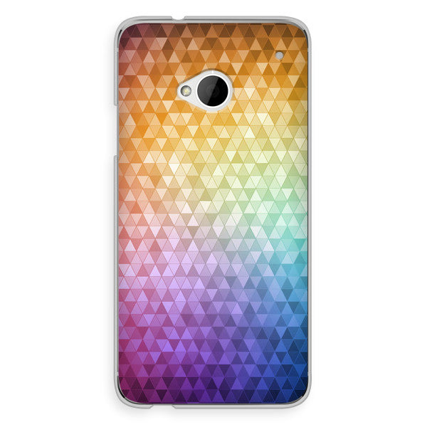 HTC One Rainbow Confetti Case - Theory Refract Case