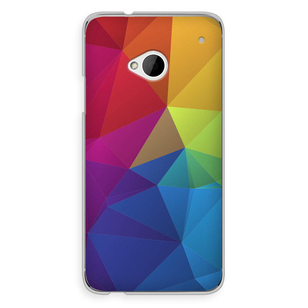 HTC One Rainbow Geometric Case - Theory Divide Case