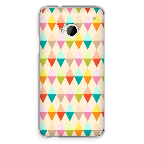 HTC One Geometric Case - Theory Emblem Case