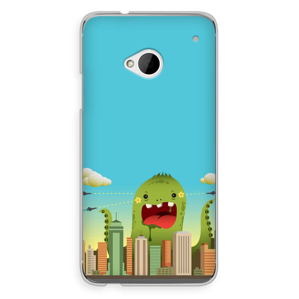 HTC One Octopus Monster Anime Case - Attack Invasion Case