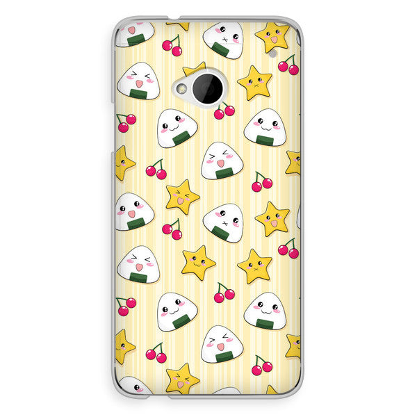 HTC One Japanese Anime Musubi Onigiri Rice Ball Case