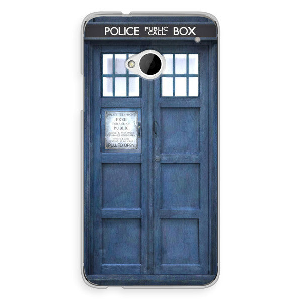 HTC One Doctor Who 50th Anniversary Tardis Phone Case