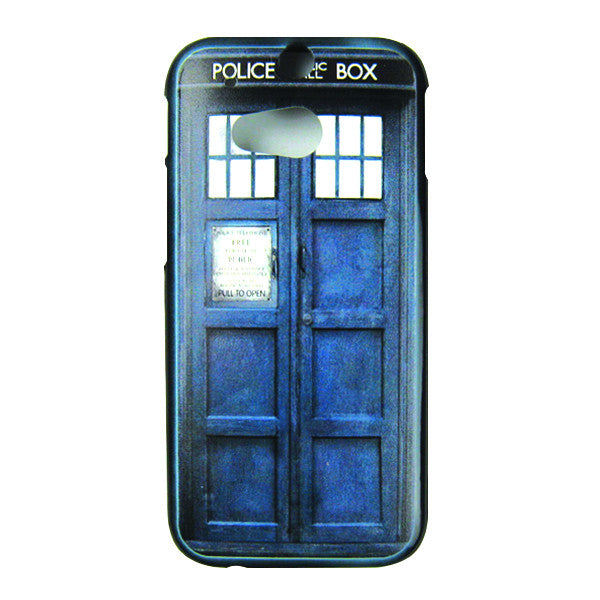 HTC One M8 Doctor Who Tardis Bumper Case