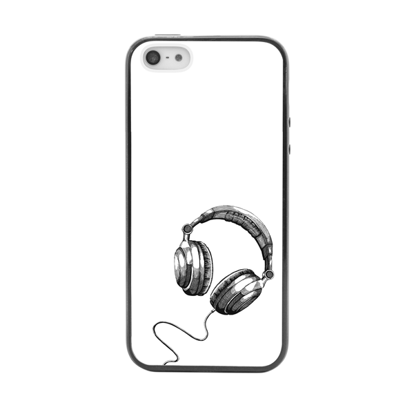 iPhone 5 and iPhone 5s Headphones DJ Bumper Case