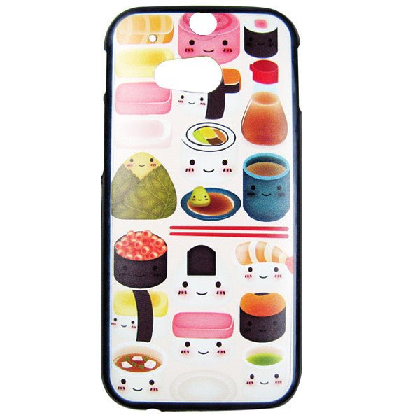 HTC One M8 Sushi Feast Bumper Case