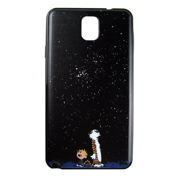 Samsung Galaxy Note 3 Calvin and Hobbes Bumper Case