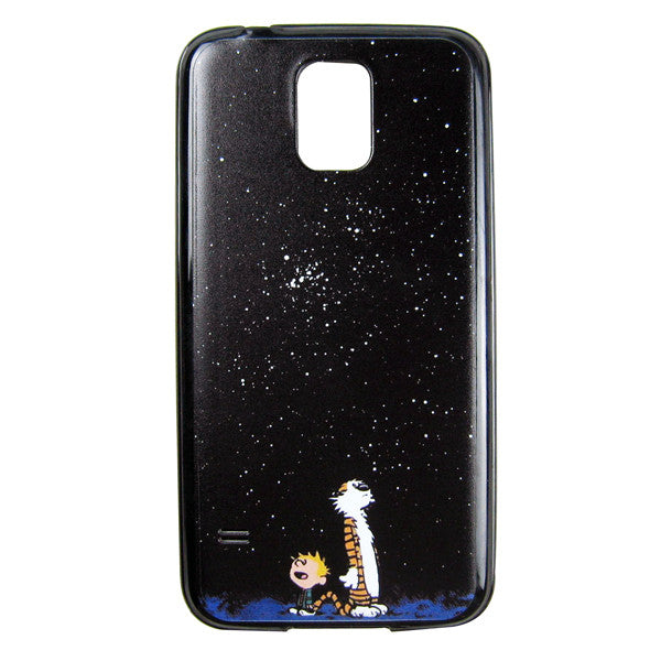 Samsung Galaxy S5 Calvin and Hobbes Bumper Case