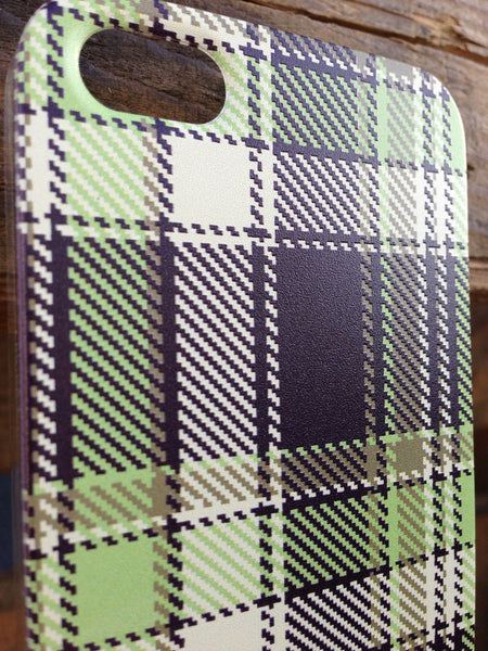 iPhone 5 Green Plaid Case - Plaid Ryan Case