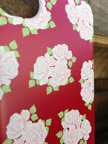 iPhone 4 and iPhone 4s Red Roses Case - Duchess Chesterfield Case