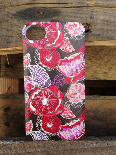 iPhone 4 and iPhone 4s Red Sangria Case - Duchess Hampton Case