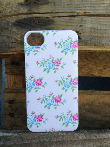 iPhone 4 and iPhone 4s Vintage Floral Pink Case - Duchess York Case