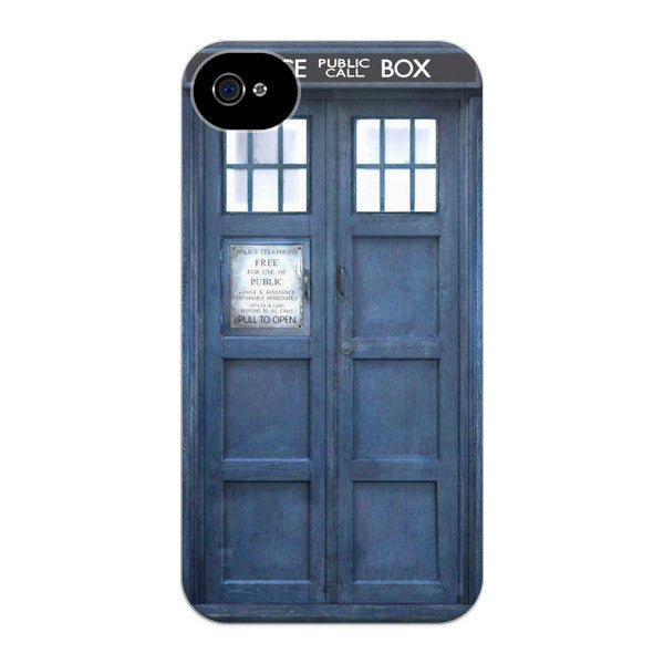 iPhone 4 and iPhone 4s Doctor Who 50th Anniversary Tardis Phone Case