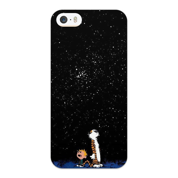 iPhone SE, iPhone 5 and iPhone 5s Calvin and Hobbes Case