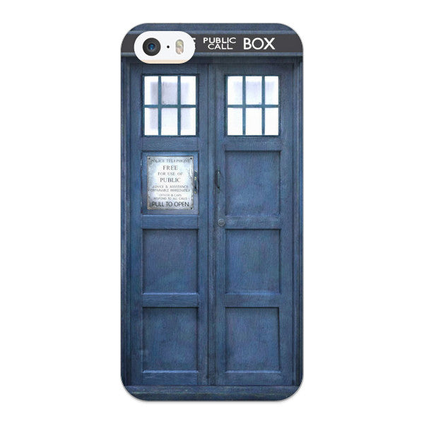 iPhone 5 and iPhone 5s Doctor Who 50th Anniversary Tardis Phone Case