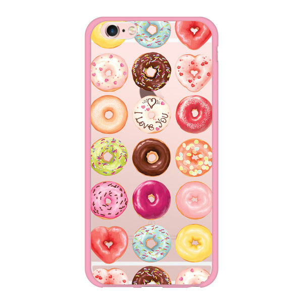 iPhone 6/6s and iPhone 6/6s Plus Donuts Pink Bumper Case