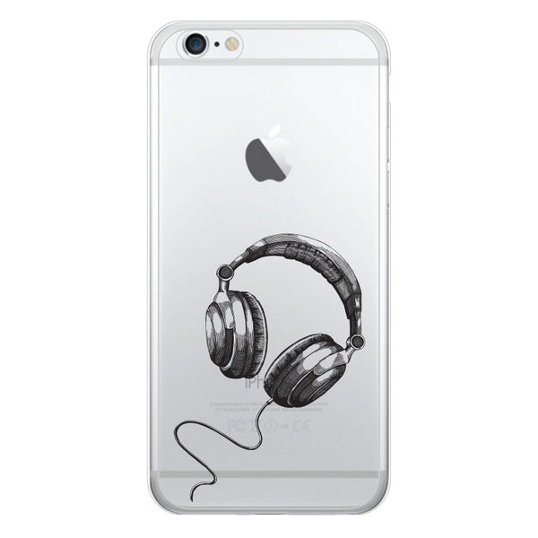 iPhone 6 and iPhone 6 Plus Headphones Bumper Case