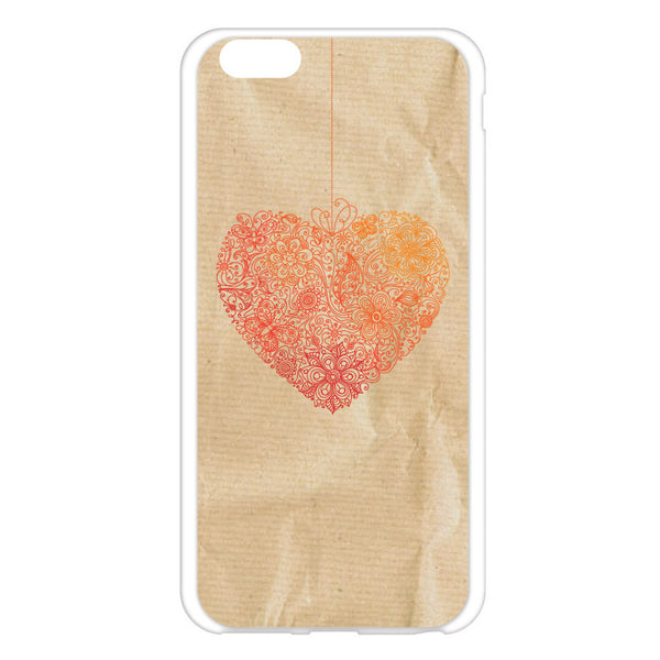 iPhone 6 and iPhone 6 Plus Heart Lace Bumper Case
