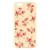 iPhone 6 and iPhone 6 Plus Yellow Floral Case