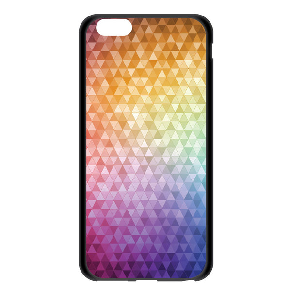 iPhone 6 and iPhone 6 Plus Rainbow Confetti Bumper Case