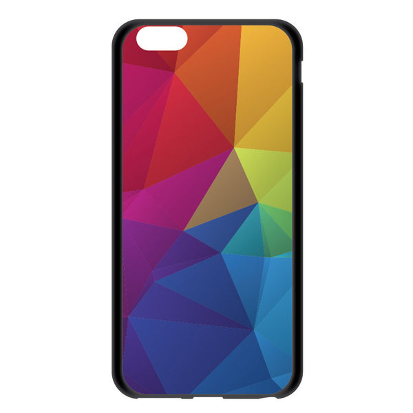 iPhone 6 and iPhone 6 Plus Rainbow Geometric Bumper Case