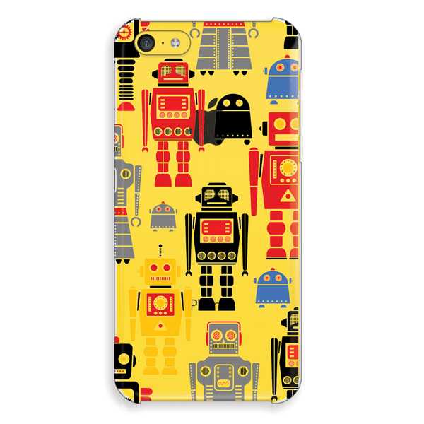 iPhone 5c Robots Cap Case