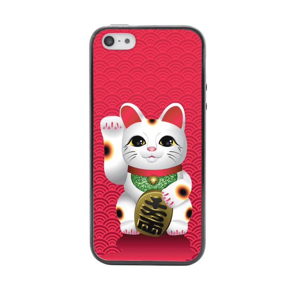 iPhone 5 and iPhone 5s Lucky Cat Maneki Neko Bumper Case