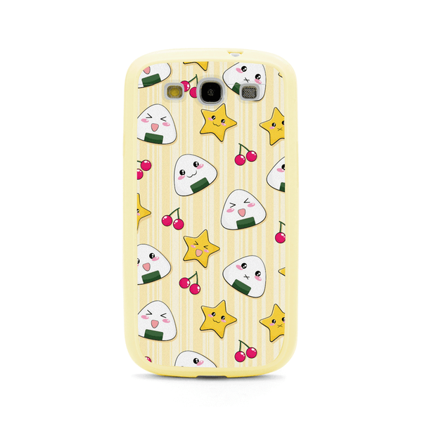 Samsung Galaxy S3 Cute Onigiri Musubi Rice Ball Bumper Case