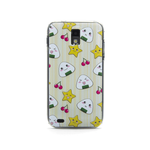 T-Mobile Samsung Galaxy S2 Musubi Onigiri Rice Ball Anime Cute Case