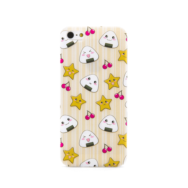 iPhone 5 and iPhone 5s Musubi Onigiri Rice Ball Anime Cute Case