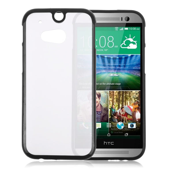 HTC One M8 Black Bumper Case