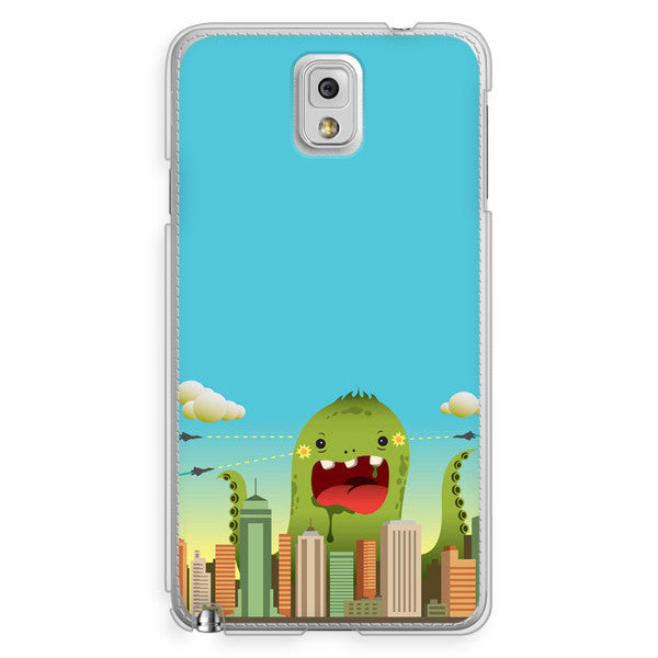 Samsung Galaxy Note 3 Octopus Monster Anime Case - Attack Invasion Case