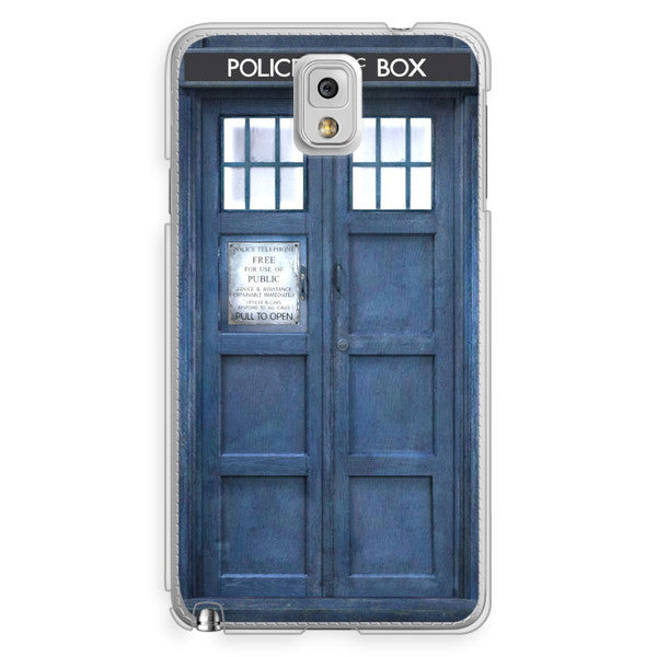 Samsung Galaxy Note 3 Doctor Who 50th Anniversary Tardis Phone Case