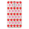 Samsung Galaxy Note 3 Strawberries Transparent Cap Case