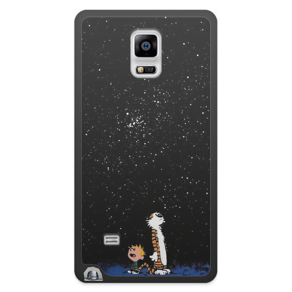 Samsung Galaxy Note 4 Calvin and Hobbes Bumper Case