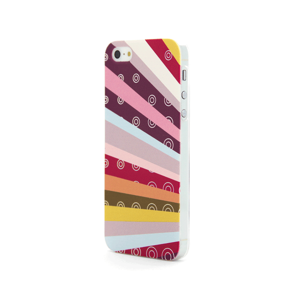 iPhone 5  and iPhone 5s Rainbow Case - Radiant Raybows Case