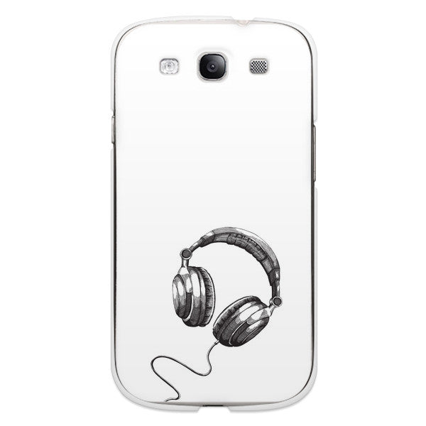 Samsung Galaxy S3 Headphones Design Case - High Tops Jams Case