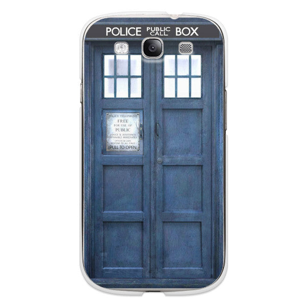 Samsung Galaxy S3 Doctor Who 50 Anniversary Tardis Phone Case