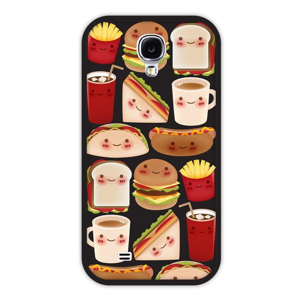 Samsung Galaxy S4 Fast Food Bumper Case