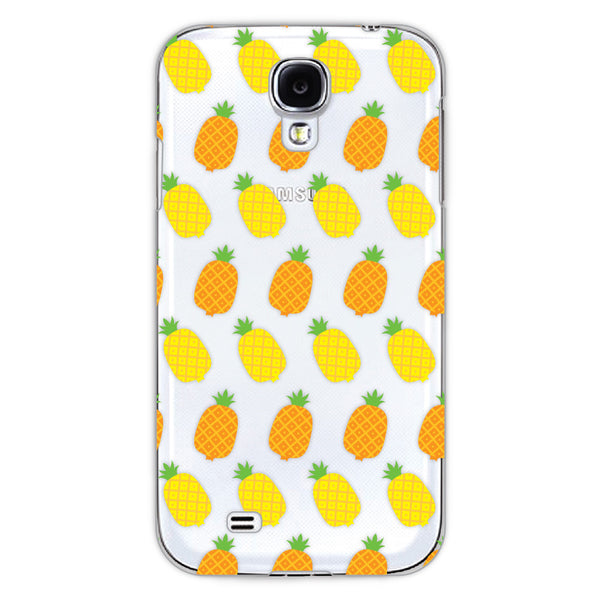 Samsung Galaxy S4 Pineapples Transparent Cap Case