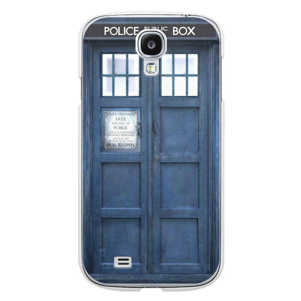 Samsung Galaxy S4 Doctor Who 50th Anniversary Tardis Phone Case