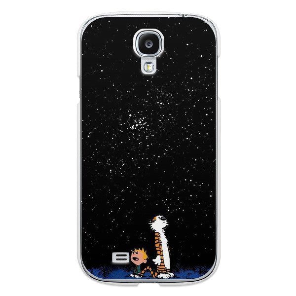 Samsung Galaxy S4 Calvin and Hobbes Bumper Case