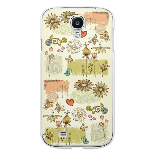 Samsung Galaxy S4 Floral Case - Ashby Petit Jardin Case